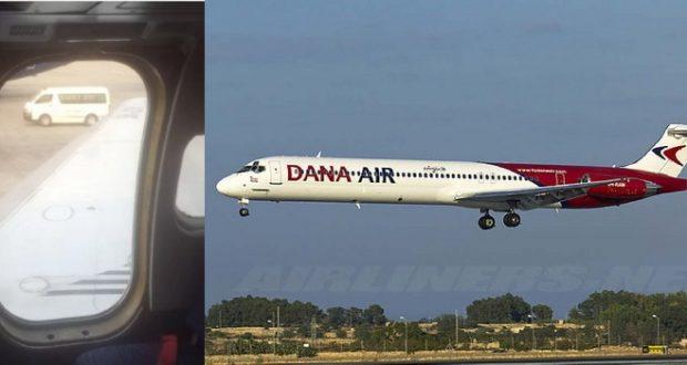 Dana exit door