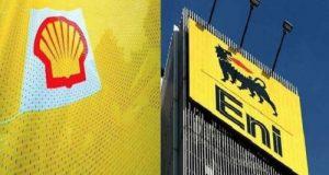 Shell Eni logos