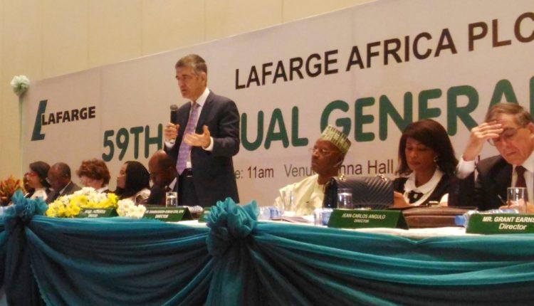 Lafarge AGM '18 lead
