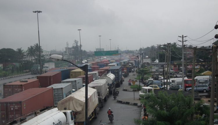 Containers gridlock Apapa