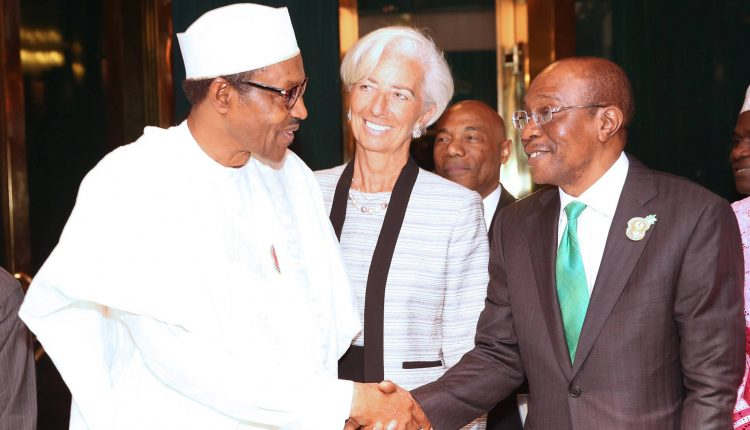 Buhari CBN IMF