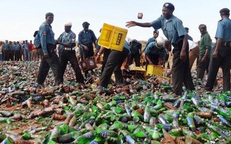Sharia Police Beer Crush